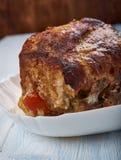 Honey Apple Pork Loin imagens de stock