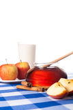 Honey and apples Royalty Free Stock Image