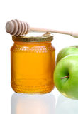 Honey And Apples Royalty Free Stock Photos
