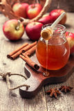 Honey, apples, spices (toning) Royalty Free Stock Photo
