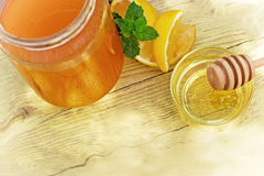 Honey as a healthy and healing food Stock Images