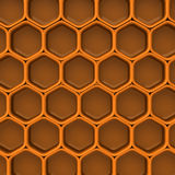 Honey background 3d Royalty Free Stock Photography