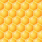 Honey Background doux illustration stock