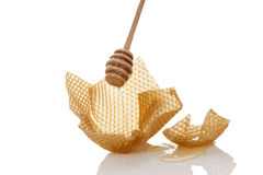 Honey background. Royalty Free Stock Photo