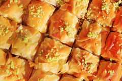 Honey Baklava Stock Photography