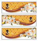 Honey Banners vektor illustrationer
