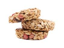 Honey bars with peanuts ,sunflower seeds Stock Photo