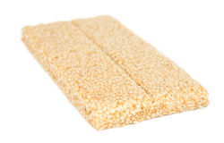 Honey bars with sesame Stock Image