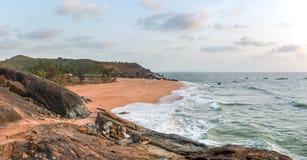 Honey beach. Uttara Kannada Karnataka in India Royalty Free Stock Photos