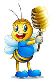 Honey bee Stock Photo