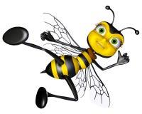 Honey Bee Karate Stock Image