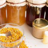 Honey bee products Stock Photography