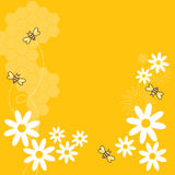 Honey Bees. Collect flowers for the honey bee Stock Photos