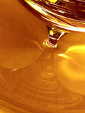 Honey blob. Computer generated illustration of golden sticky liquid Royalty Free Stock Images