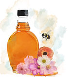 Honey Bottle Royalty Free Stock Photos
