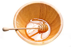 Honey in the bowl Royalty Free Stock Photos