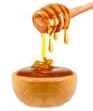Honey in a bowl Stock Photos