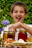 Honey boy Royalty Free Stock Photography