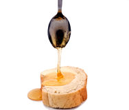 Honey and bread Royalty Free Stock Images