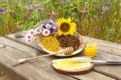 Honey bread Stock Photography