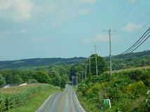 Honey Brook Pennsylvania. Countryside in Honey Brook Pennsylvania USA Royalty Free Stock Photography