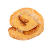 Honey Bun Single Top View Royalty Free Stock Photo