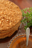 Honey cake Stock Image