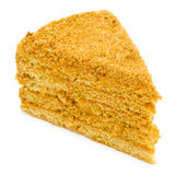 Honey cake Stock Photo