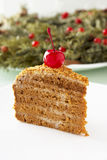 Honey cake. Stock Photo