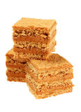 Honey cake slice Royalty Free Stock Photography