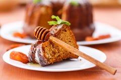 Honey cake Royalty Free Stock Images