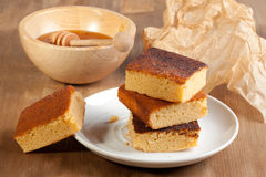 Honey cakes Stock Photography
