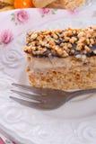 Honey cakes with chocolate Stock Image