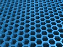 Honey cellular background Stock Photography