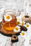 Honey And Chamomile image stock