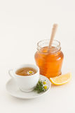 Honey and Chamomile Stock Images