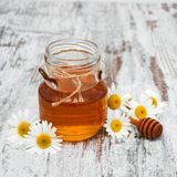 Honey And Chamomile photographie stock libre de droits