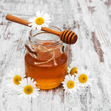 Honey And Chamomile photo libre de droits