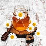 Honey And Chamomile photo stock