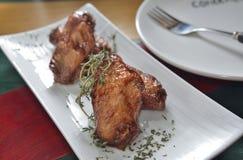 Honey Chicken Wings Fotografia de Stock Royalty Free