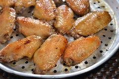 Honey Chicken Wings Fotografía de archivo