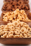 Honey and chocolate cereals Stock Photos