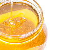 Honey closeup Royalty Free Stock Photo