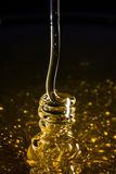 Honey Coiling Effect. Honey coiling spiral effect Royalty Free Stock Image