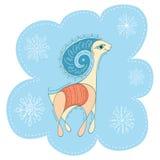 Honey colored goat. Royalty Free Stock Image
