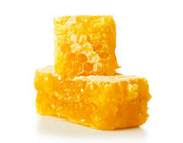 Honey comb close-up Royalty Free Stock Image