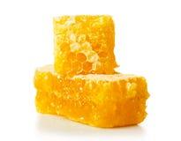 Honey comb close-up Royalty Free Stock Image