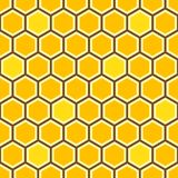 Honey Comb Colorful Pattern ilustração do vetor