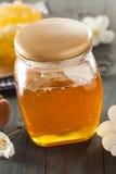 Honey Comb de oro crudo orgánico Foto de archivo