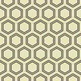 Honey Comb Pattern ilustração stock